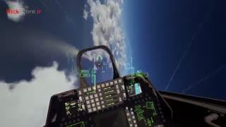 گیم پلی واقعیت مجازی بازی Ace Combat 7