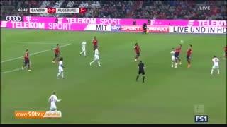 خلاصه بوندسلیگا: بایرن مونیخ ۱-۱ آگزبورگ