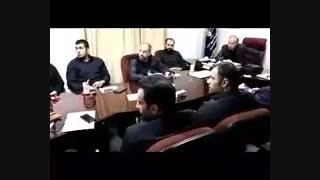 بازدید فرمانده بسیج منطقه 18 تهران از  بسیج شهرک ولیعصر