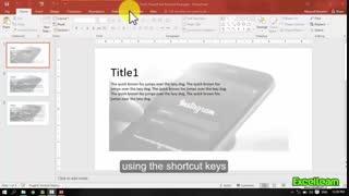 Shortcut keys msPowerpoint_part2