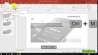 Shortcut keys msPowerpoint_part5