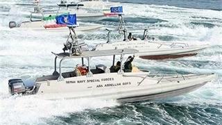 فیلم منتشرنشده از توقیف کشتی آمریکایی حامل محموله نظامی توسط سپاه