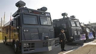 رونمایی از خودروی جدید یگان ویژه پلیس