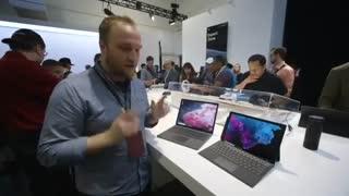 مایکروسافت سرفیس پرو 6 و لپتاپ 2 را معرفی کرد