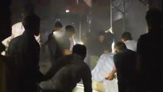 آخرین تصاویر از آتشسوزی جمعه بازار یاسوج/ آتش مهار شد
