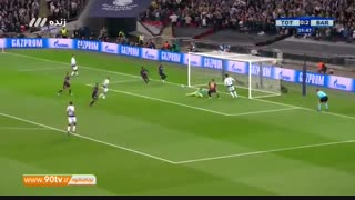 خلاصه لیگ قهرمانان: تاتنهام 2-4 بارسلونا