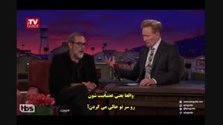 گفتگو با فری دین مورگان بازیگر سریال مردگان متحرک