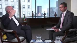 مصاحبه مهدی حسن از شبکه الجزیره با محمد جواد ظریف  (انگلیسی)