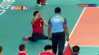 خلاصه والیبال نشسته ایران 3 - کره جنوبی 0