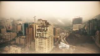 نمایی بی نظیر از شهر تهران و توچال، فیلمبرداریِ هواییِ یک جهانگرد هلندی