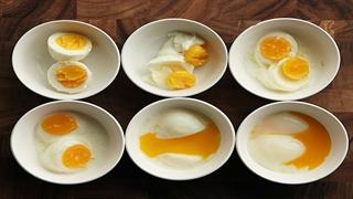 20 راه جدید برای پخت تخم مرغ
