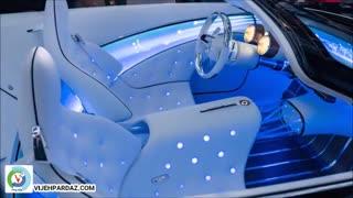 رونمایی از خودروی برقی لوکس مرسدس بنز