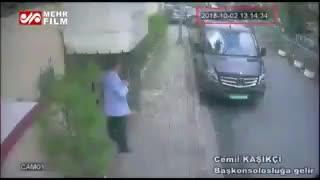 انتشار فیلم مظنونین قتل «جمال خاشقجی»