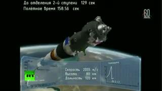 حادثه برای موشک سایوز/فضانوردان روس و آمریکایی زنده ماندند