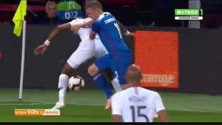 خلاصه بازی: دوستانه: فرانسه 2-2 ایسلند