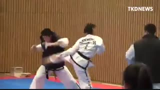 This is TAEKWON-DO ITF