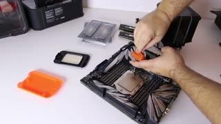 آموزش آسان نصب پردازنده های AMD Ryzen Threadripper به همراه کولر