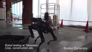 رباتی که ساخت و ساز را بازرسی می کند