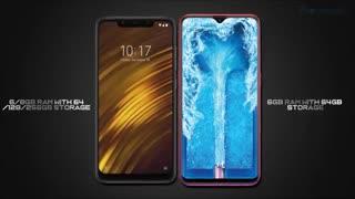 مقایسه Oppo F9 Pro با Xiaomi Pocophone F1 با Vivo V11