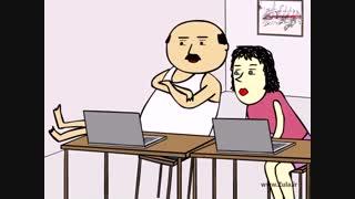 جدیدترین انیمیشن سوریلند - پرویز و پونه - شکنجه پدر !