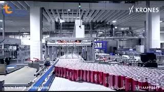 خط تولید نوشابه انرژی زا / ماشین آلات شرکت Krones
