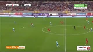 خلاصه بازی دوستانه: بلژیک 1-1 هلند