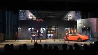 نمایش قهرمانان مارول در دیزنی لند پاریس(از دست ندید)