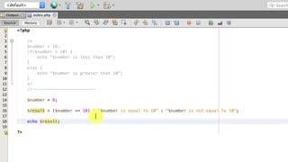 آموزش برنامه نویسی به زبان PHP - جلسه چهارم : دستورات شرطی در PHP