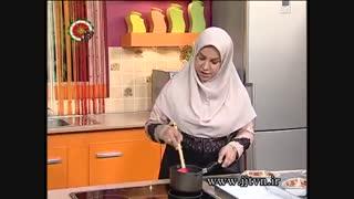 طرز تهیه شیرینی نارگیلی