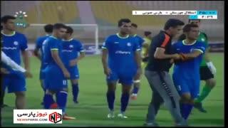 خلاصه بازی: استقلال خوزستان 0-2 پارس جنوبی جم