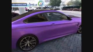 دمویی از اپلیکیشن واقعیت افزوده BMW
