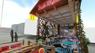 طراحی سه بعدی و انیمیشن بستنی فروشی در قم (شنتیا)