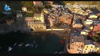منظره ایتالیا از نمای بالا