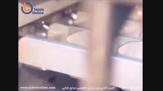 خط تولید و بسته بندی آب لیوانی