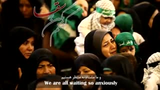 """نغمه خوانی زیبای """"یا حسین"""" با صدای محمد عرب"""
