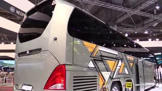 اتوبوس های جدید و شدیدا لوکسی که از سال بعد به تولید خواهند رسید