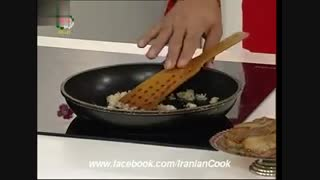 طرز تهیه خوراک بادمجان و عدس