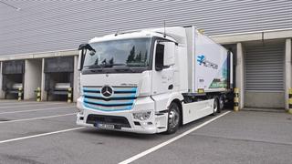 ویدئوی معرفی کامیون جدید الکتریکی eActros مرسدس بنز