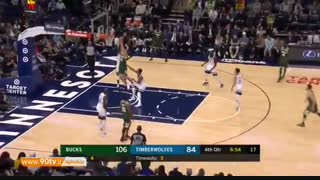 ۱۰ حرکت برتر بسکتبال NBA: شنبه ۹۷/۰۸/۰۵