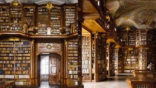 کتابخانههای کهن با معماری خاص