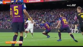 خلاصه لالیگا: بارسلونا ۵-۱ رئال مادرید (هتریک سوارز)