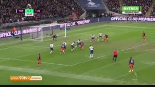 خلاصه لیگ برتر: تاتنهام ۰-۱ منچسترسیتی