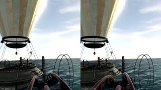 ویدیو سه بعدی و مهیج ترن هوایی ترسناک برای هدست های واقعیت مجازی