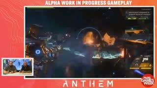 20 دقیقه نمایش هیجان انگیز از بازی Anthem