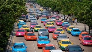 تاکسی های رنگارنگ بانکوک