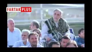 واکنش سردار سلیمانی به مداحی محمود کریمی در بخشهای دیدهنشده از مراسم عید فطر