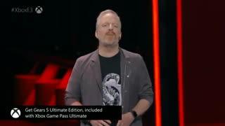 Gears of War 5 Escape Mode u0026 Terminator Full Presentation - Microsoft Xbox E3 2019