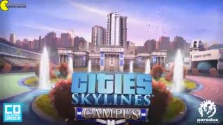 Cities Skylines Campus trailer tehrancdshop.com تریلر پک الحاقی محوطه دانشگاه