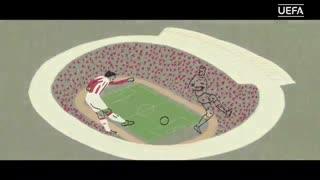 لیگ قهرمانان اروپا 2018-2019 به روایت انیمیشن