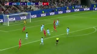فوتبال زنان-جام جهانی فرانسه - آمریکا در برابر تایلند